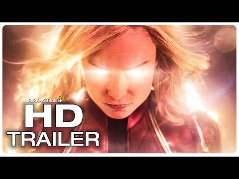CAPTAIN MARVEL Official Trailer #1 (NEW 2019) Brie Larson Superhero Movie HD