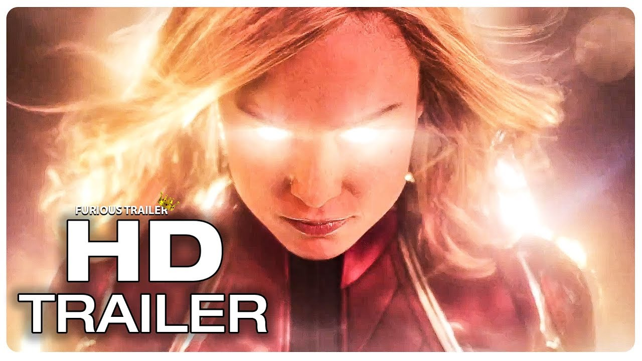 CAPTAIN MARVEL Official Trailer #1 (NEW 2019) Brie Larson Superhero Movie HD
