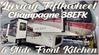 2021 Cedar Creek Champagne 38EFK Luxury Front Kitchen Fifth Wheel @ Couchs RV Nation RV Walkthrough