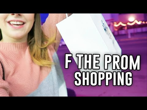 SHOPPING FOR THE PREMIERE OF THE F THE PROM! +trailer out NOW // Jill Cimorelli