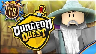 VI MØDER GANDALF I DUNGEON QUEST! - Dungeon Quest | Dansk Roblox