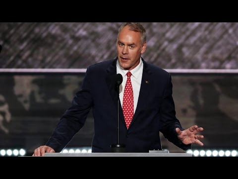 Trump taps Zinke to lead Interior Department