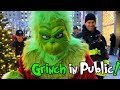 THE GRINCH IN PUBLIC!!!