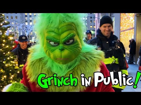 THE GRINCH IN PUBLIC