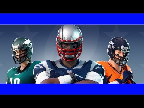 NFL Skins Coming Soon!! I Want MLB Skins Though!!!! #TEAMLIVE Fortnite TRiceHD