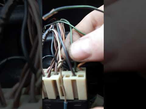 Установка датчика света для автоматического включения ближнего света в авто.