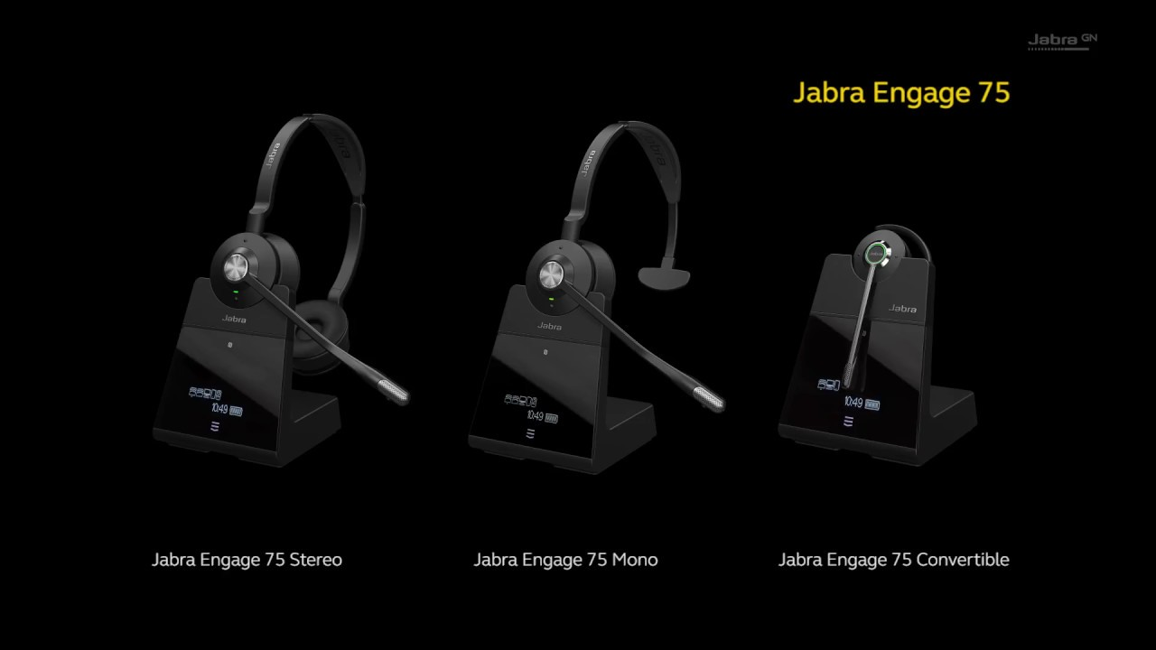 cd9d156e3e5 Jabra Engage - YouTube