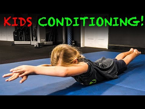 ����GYMNASTICS CONDITIONING ��♀️ Exercises for Kids (STRONG & Healthy) ����