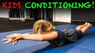 💪🥇GYMNASTICS CONDITIONING 🤸♀️ Exercises for Kids (STRONG & Healthy) 🏆💪