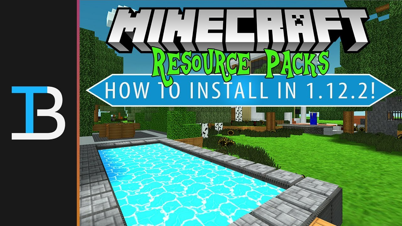 Details on how to install resource packs on the Meincraft