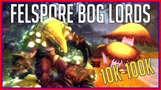 Today's WoW Gold Guide is looking at the Felspore Bog Lords located...