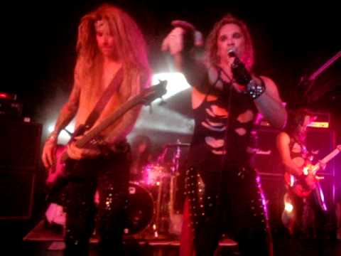 Steel Panther - Stripper Girl Live - Birmingham Academy 2 13th September 2009