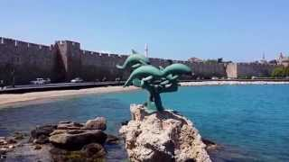 Rhodes Island Greece Tourist Attractions - Rhodes Island Greece, City Walls