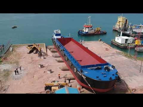 """Split Hopper Barge """"KARANG ANOM"""""""