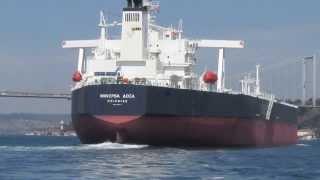 Video Minerva Oil Tanker with Escort in the Bosphorus download MP3, 3GP, MP4, WEBM, AVI, FLV September 2018