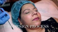 Phibrows Microblading design process Orlando FL