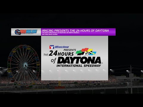 iRacing Presents the 24 Hours of Daytona - Hours 8-12