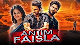 "Allu Arjun Telugu Hindi Dubbed Blockbuster Movie ""Antim Faisla"" 