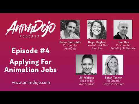 The AnimDojo Podcast: Episode 4 Applying For Animation Jobs