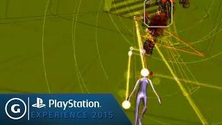 REZ Infinite VR Demo - PSX 2015