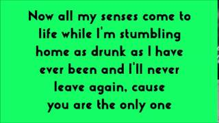 Ed Sheeran - One (lyrics)