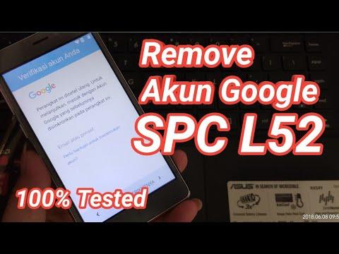 Bypass FRP Google Account SPC L52 STEEL+ , L52F , L52 PRO Tested 100%