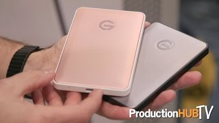 G-Technology previews G-DRIVE USB Type-C Solutions at PhotoPlus 2016