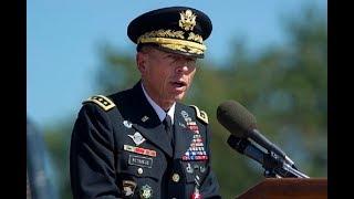 David Petraeus - Military Retirement Speech Free HD Video