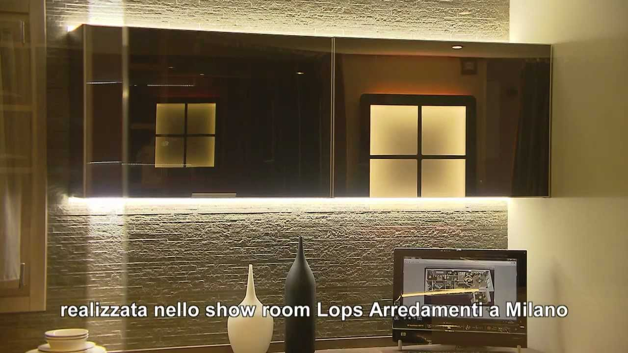 Casa eco domotica lops youtube for Lops arredi distretto del design trezzano