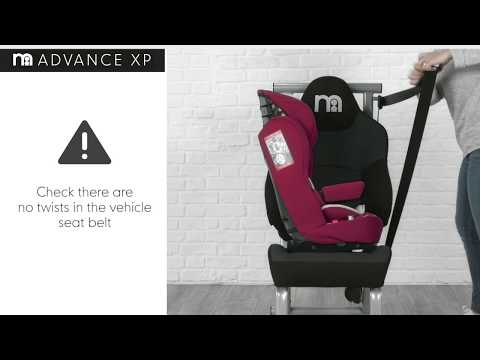 Как установить автокресло-бустер Mothercare Advance XP