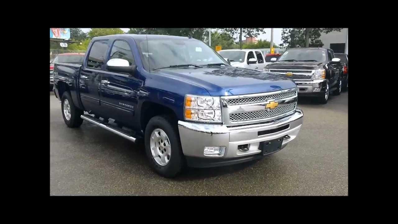 2012 Chevrolet Silverado Thunder Blue Topaz Edition For