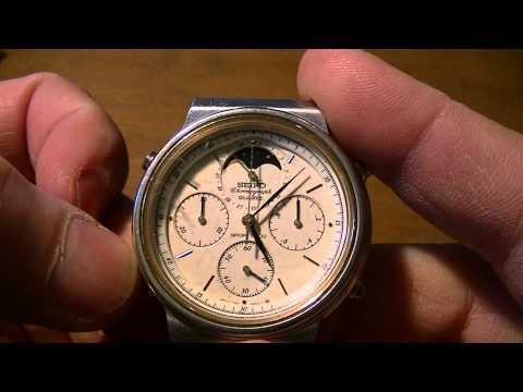 seiko sportura chronograph instructions