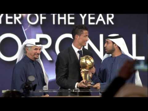 Cristiano Ronaldo - Globe Soccer Awards 2014 [HD]
