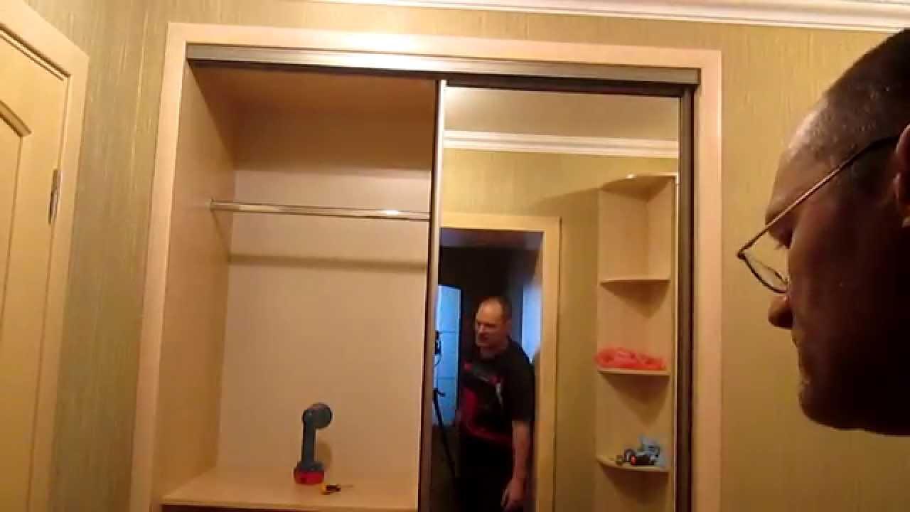 Инструкция по сборке шкафа купе селена 2 с антресолью