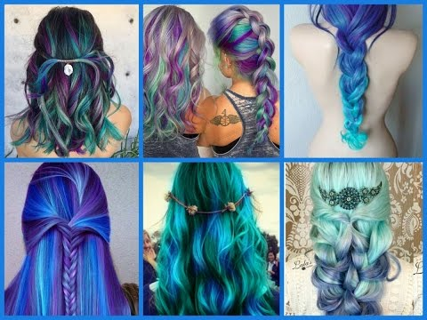 Top-20 Mermaid Hair Color Ideas – Hair Color Trends 2017
