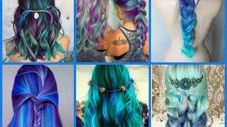 Top-20 Mermaid Hair Color Ideas