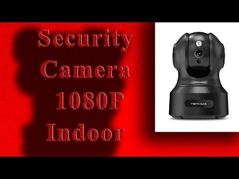 TETHYS Wireless Security Camera 1080P Indoor 2020