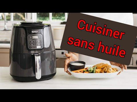 Mes Plats Cuisiner Sans Huile🍟friteuse  à Aire Ninja 🍟_القلي بدون زيت_ بعض الاطباق