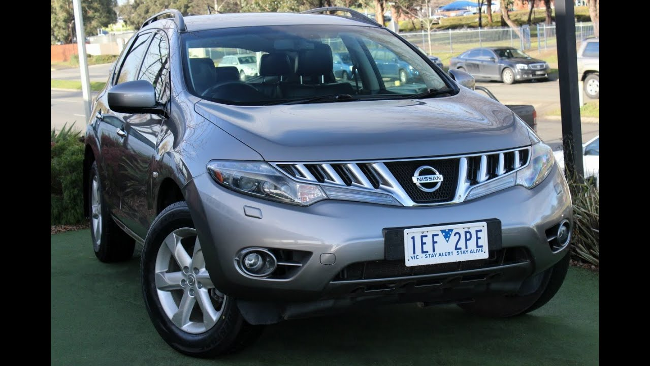 B5512 2009 nissan murano ti z51 auto 4x4 review youtube b5512 2009 nissan murano ti z51 auto 4x4 review vanachro Image collections