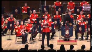 Coldstream Guards Band Japan tour 2013 Triphony hall 2-2