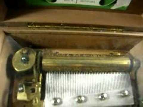 Thorens antique music box