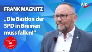 Frank Magnitz im Porträt | Spitzenkandidat AfD Bremen
