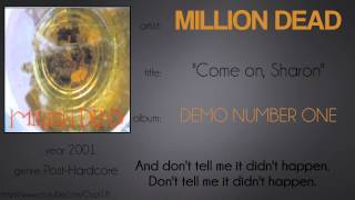 Watch Million Dead Come On Sharon video