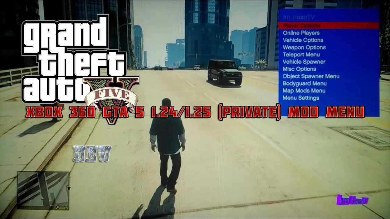 Xbox 360 GTA 5 1.26/1.27 (Private) Online/Offline Mod Menu + Download ,  YouTube