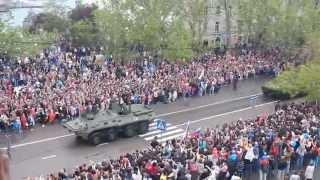 Севастополь 9 Мая 2014 года. Парад Победы. Часть 3