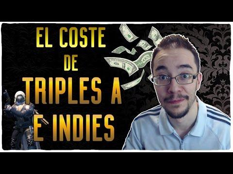 El coste de hacer juegos TRIPLE A e INDIES
