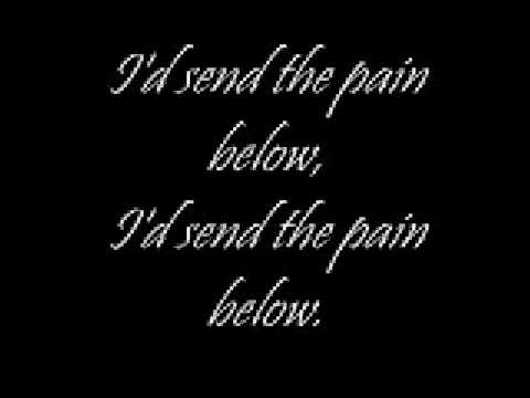 Send the pain below w/ lyrics - Chevelle