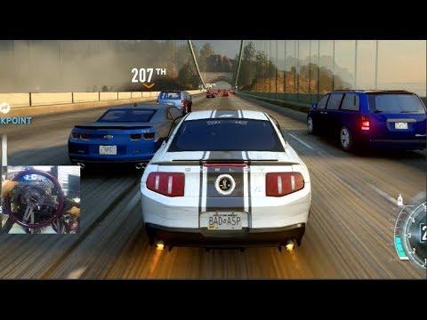 NFS The Run PC- GoPro Career LP EP1- Get To VEGAS! Ford Mustang!!   SLAPTrain
