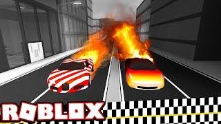 LEVEL 5 BUGATTI VS LEVEL 5 FERRARI SUPERCAR RACE!!! (Roblox Jailbreak)