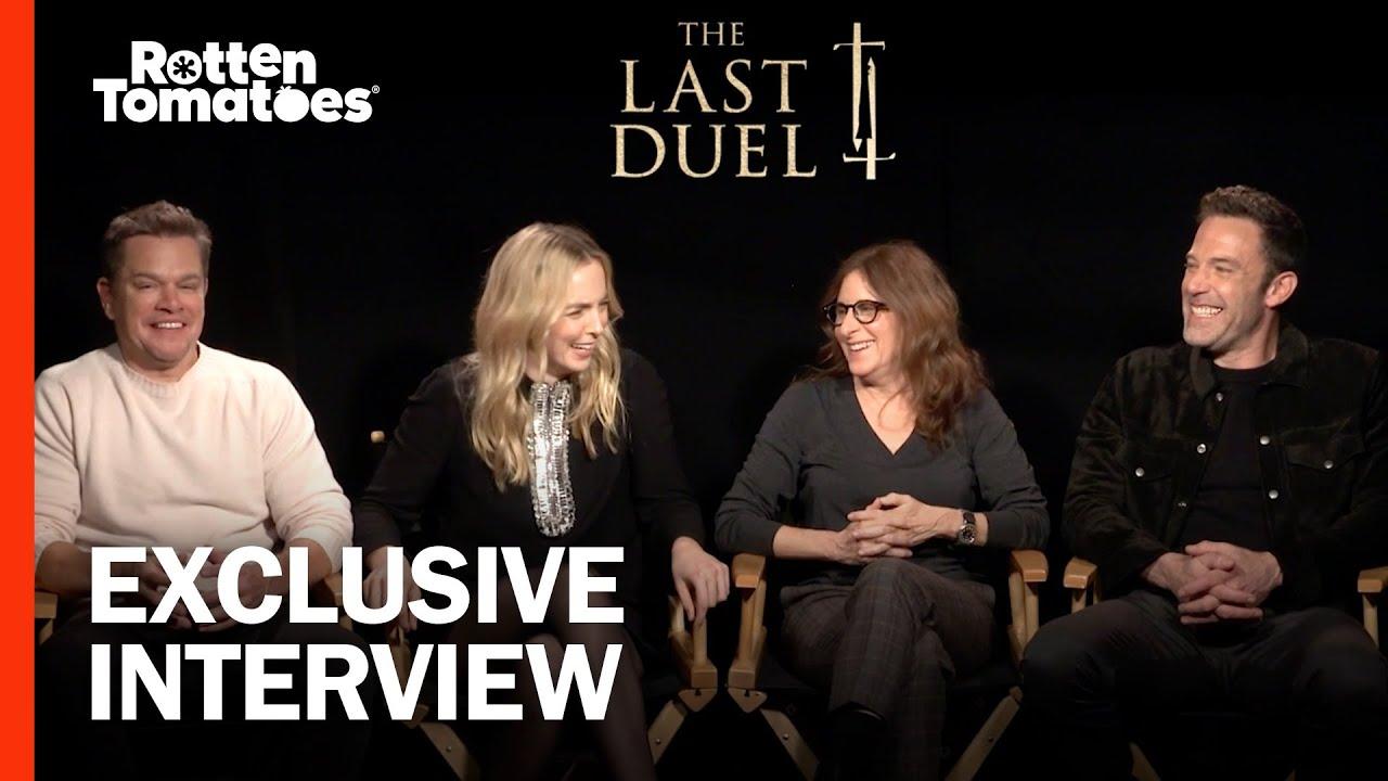 Matt Damon, Ben Affleck Praise the 'Fearlessness' of Jodie Comer in The Last Duel | Rotten Tomatoes